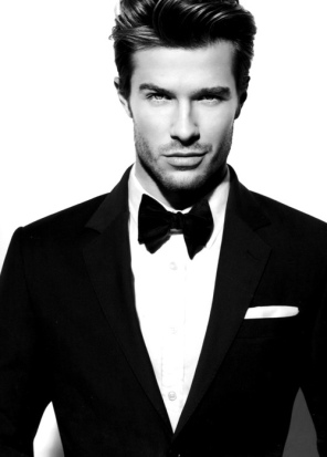 Sexy guy in a tux